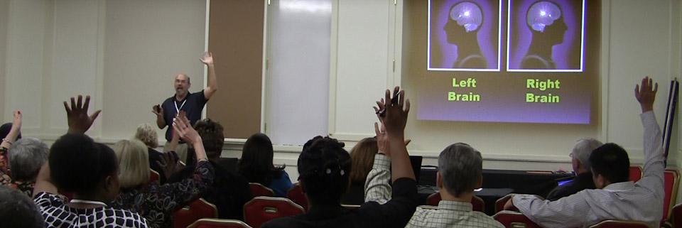 Tom Nixon leads an Advanced PowerPoint Workshop